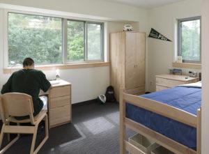 single room in langdon wood residence hall