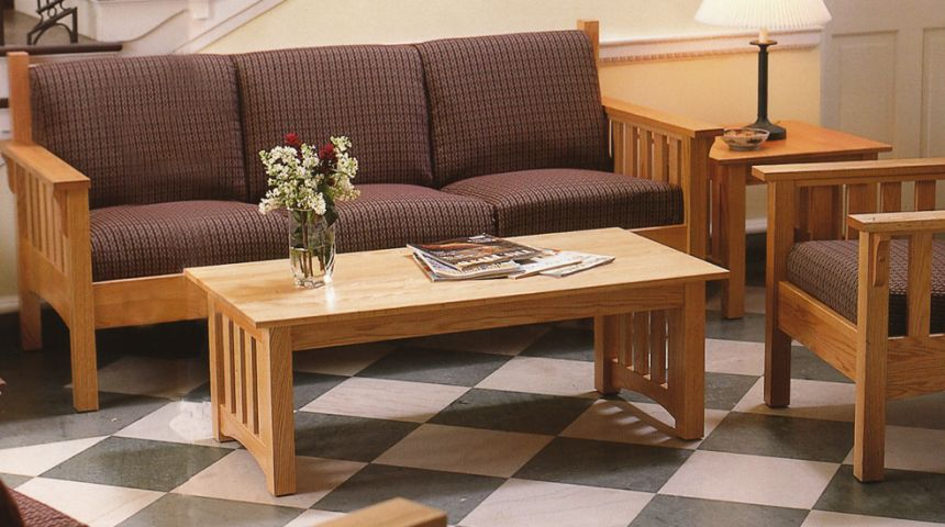 What Is Mission Style Furniture Why Is It Great For Residence Halls