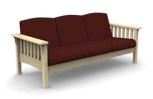 Mission 3 Seat Sofa