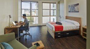 studio apartments at Weyburn Terrace