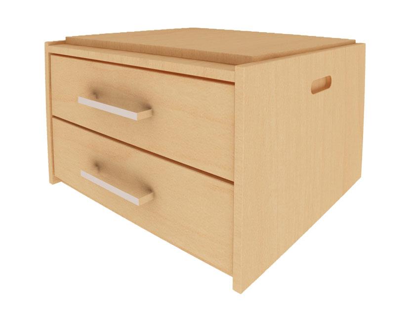 stackmaster 2 drawer storage