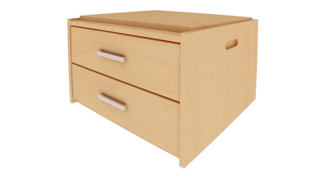 stackmaster 2 drawer
