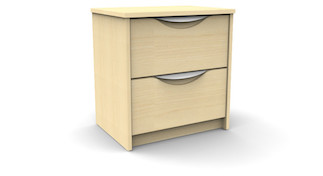 campus nightstand 2 drawer