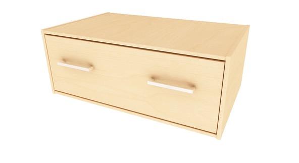 campus single drawer storage