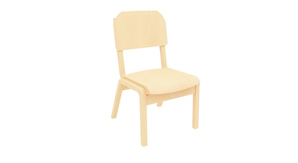 campus bend plywood chair