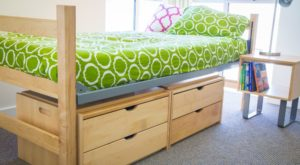 bedroom furniture UCLA University Apartments