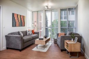 lounge furniture UCLA University Apartments