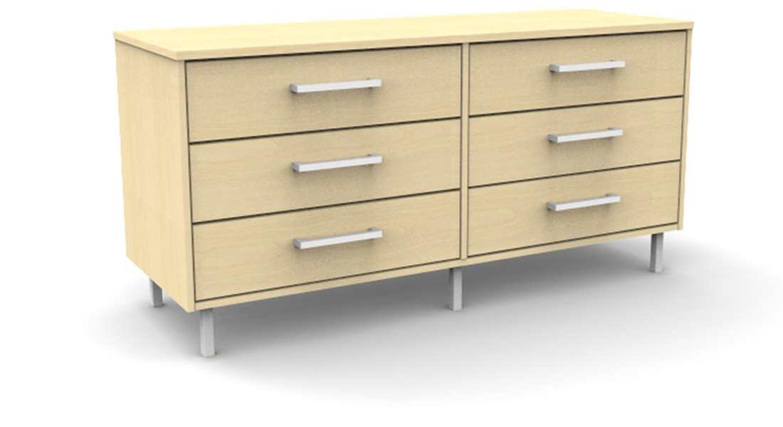 Martinez 6 Drawer Dresser