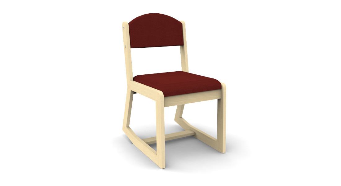 2 Position Solid Wood Chair