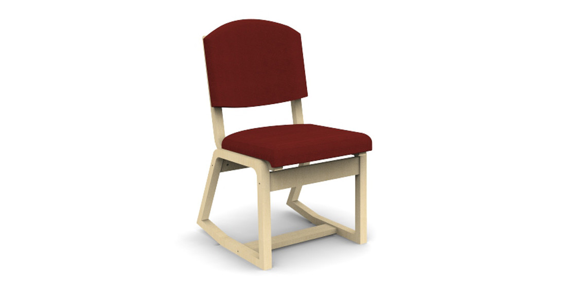 Two Position Bent Plywood Chair
