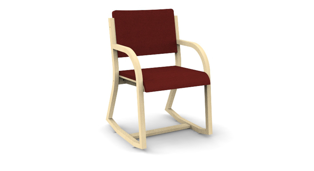 3 Position Bent Plywood Chair