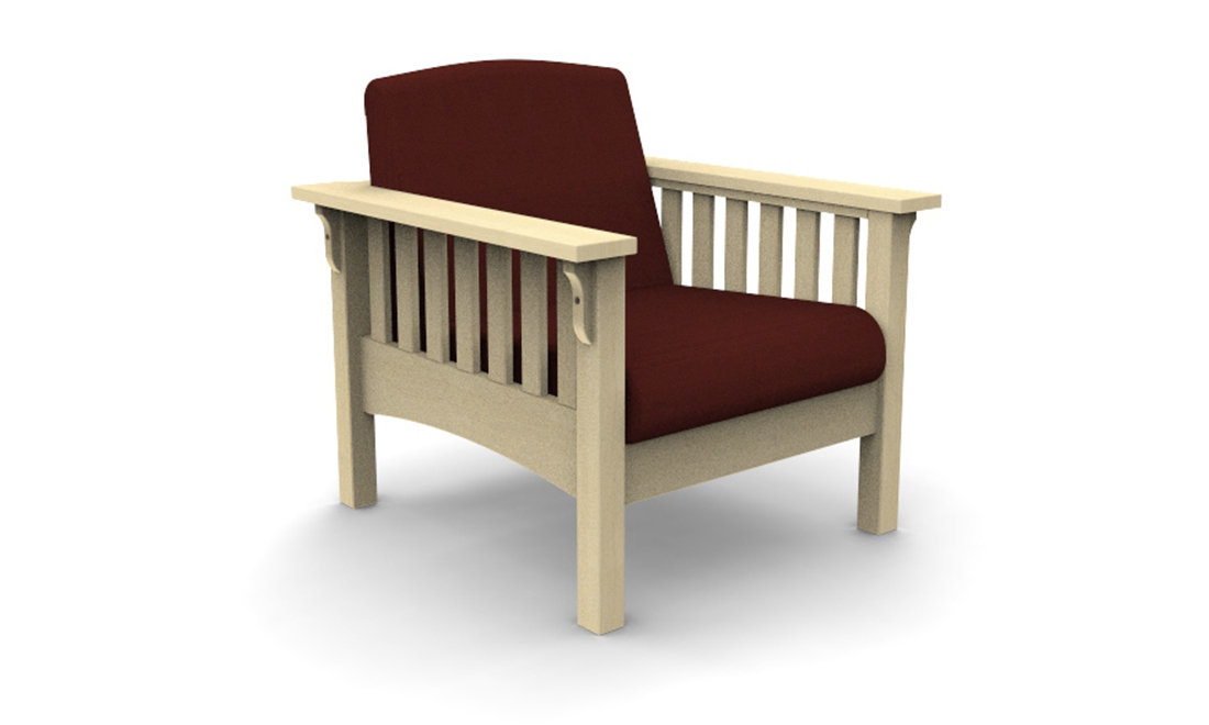 Mission Lounge Chair