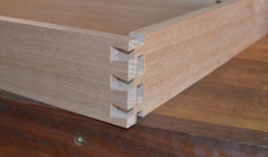 dovetail joint for long lasting furniture