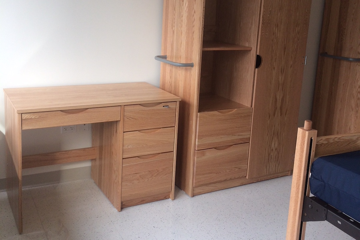 DCI solid hardwood furniture for colleges