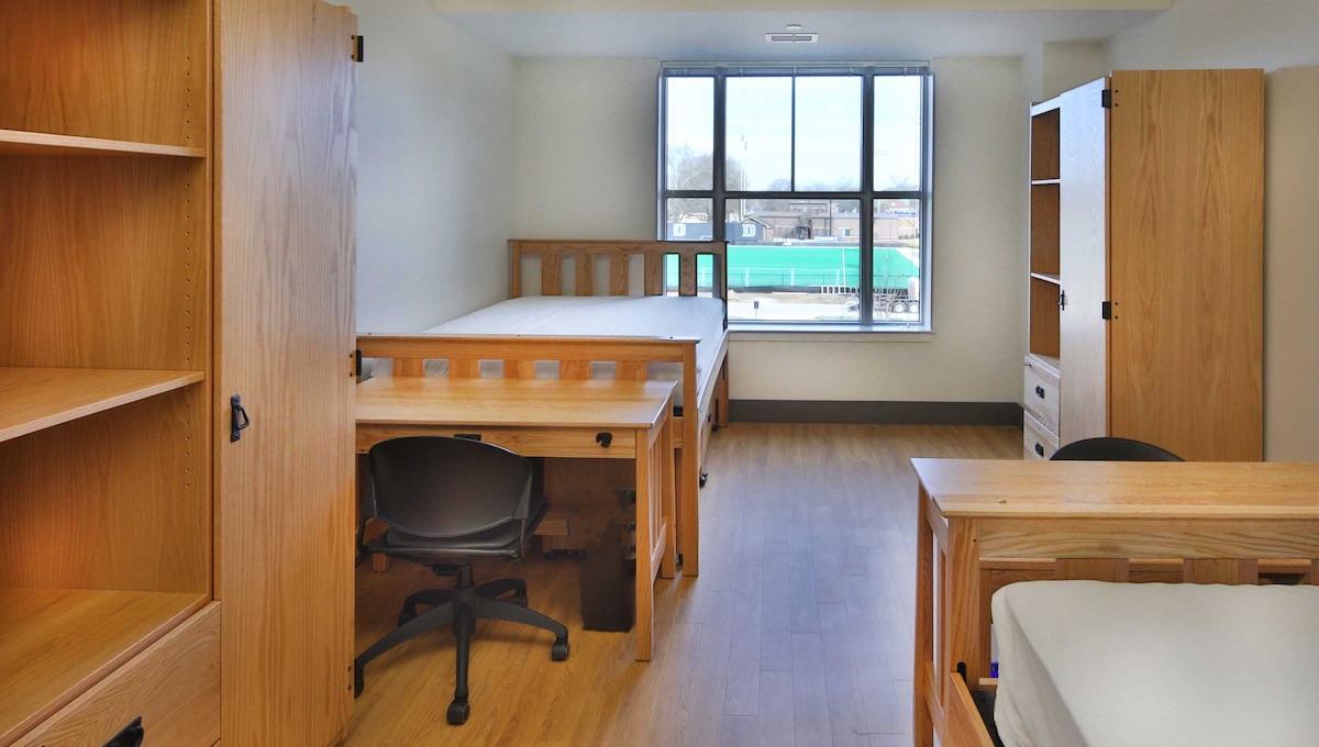 Duke University hardwood furniture by DCI Furn