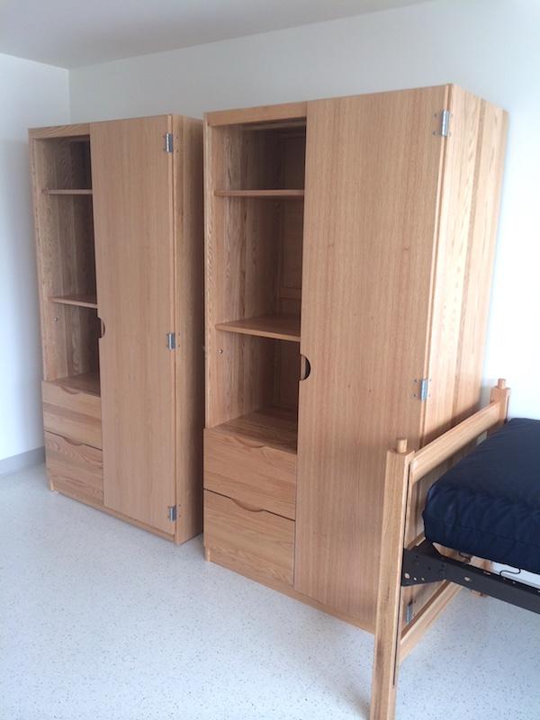 DCI solid hardwood furniture at Fordham