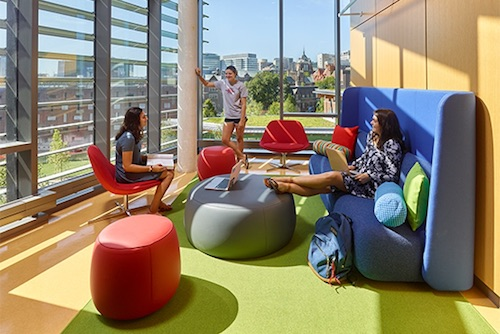 U of Penn furniture project by DCI Furniture