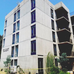 Residence halls at muir college UCSD