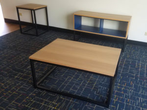 modern table set for muir college UCSD