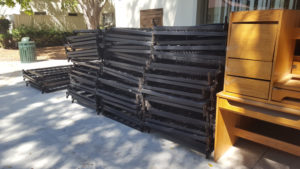 recycled metal beds