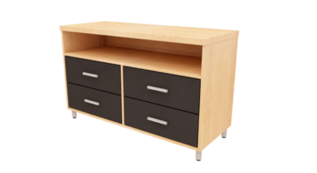 Paseo Dresser TV Stand