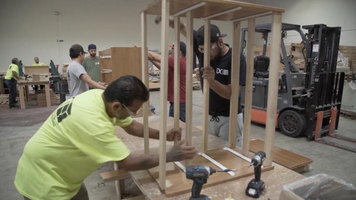 Careers at DCI furniture for solid hardwood furniture building