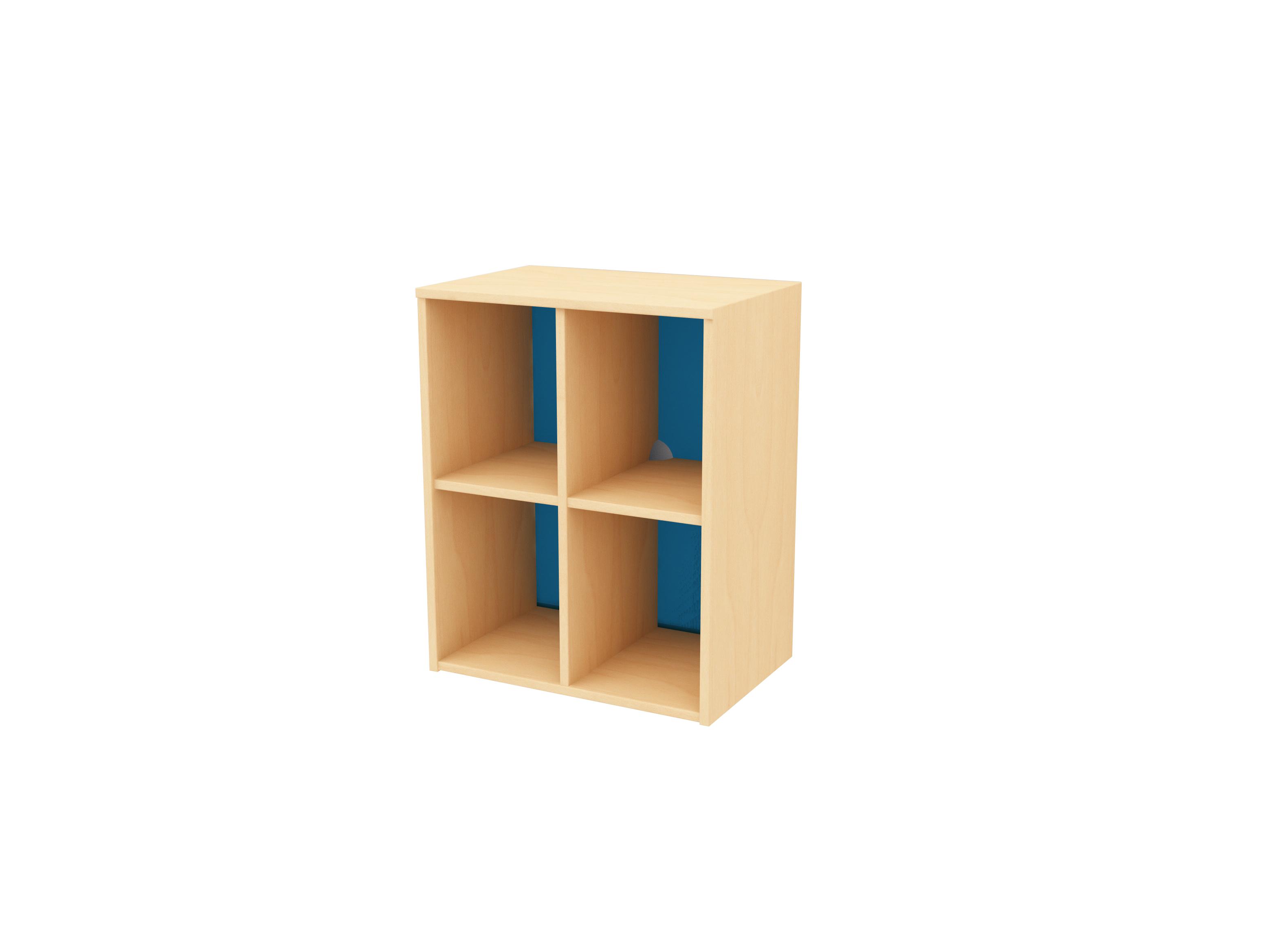 4 cubby storage