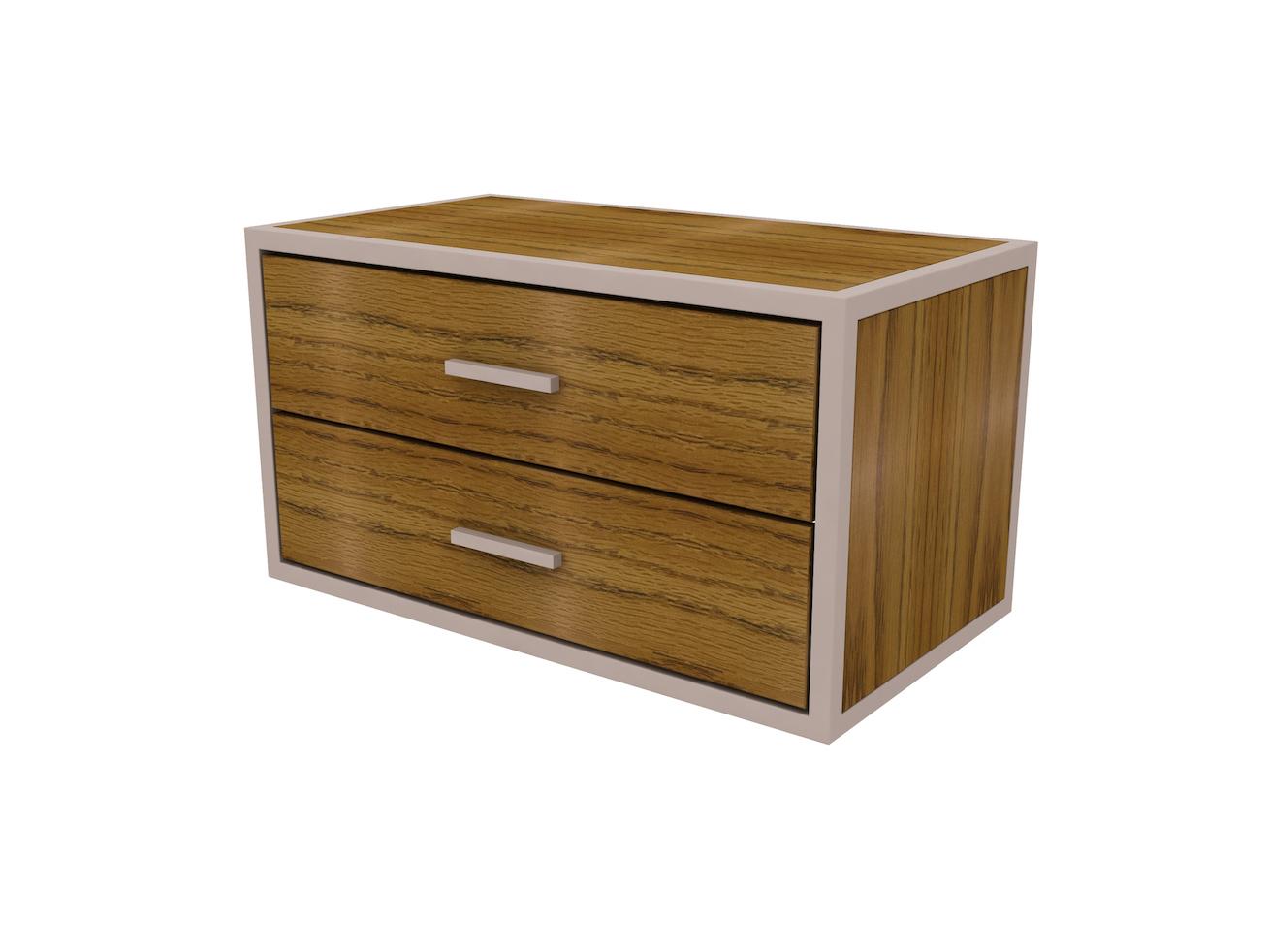 rowan 2 drawer underbed large