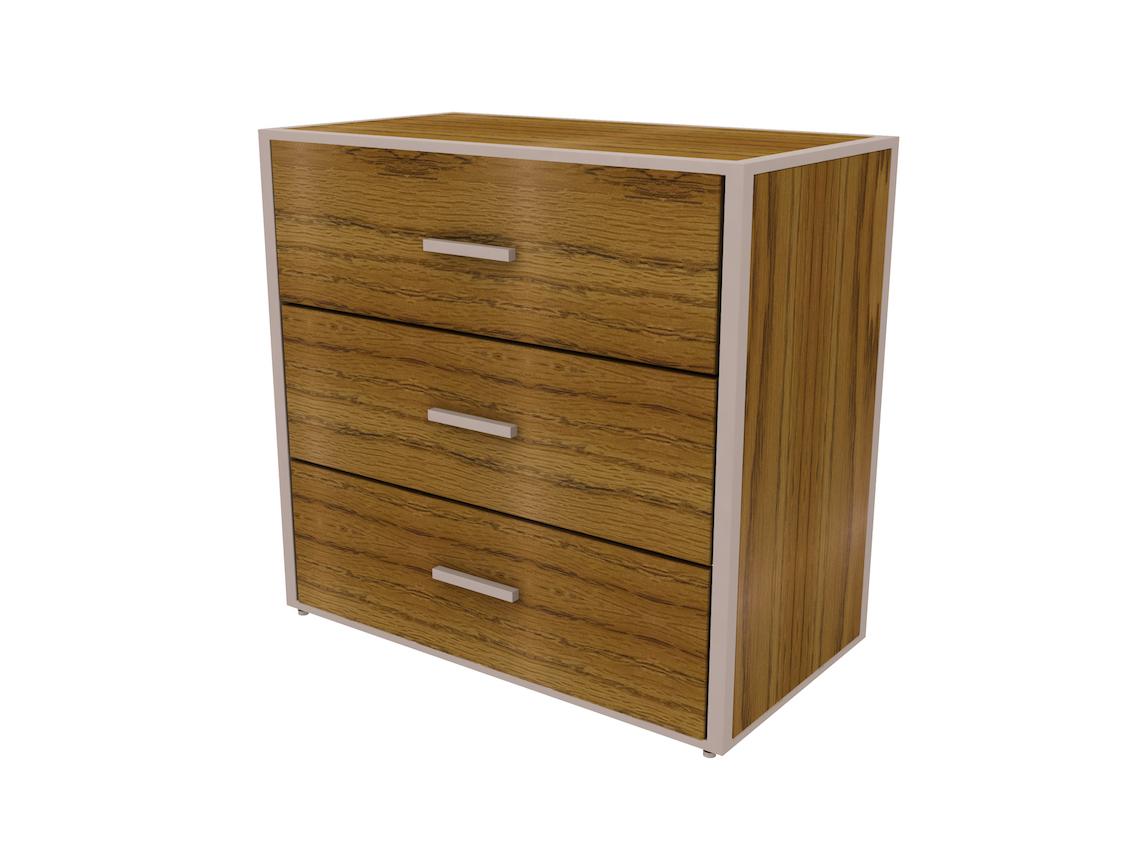 rowan 3 drawer chest