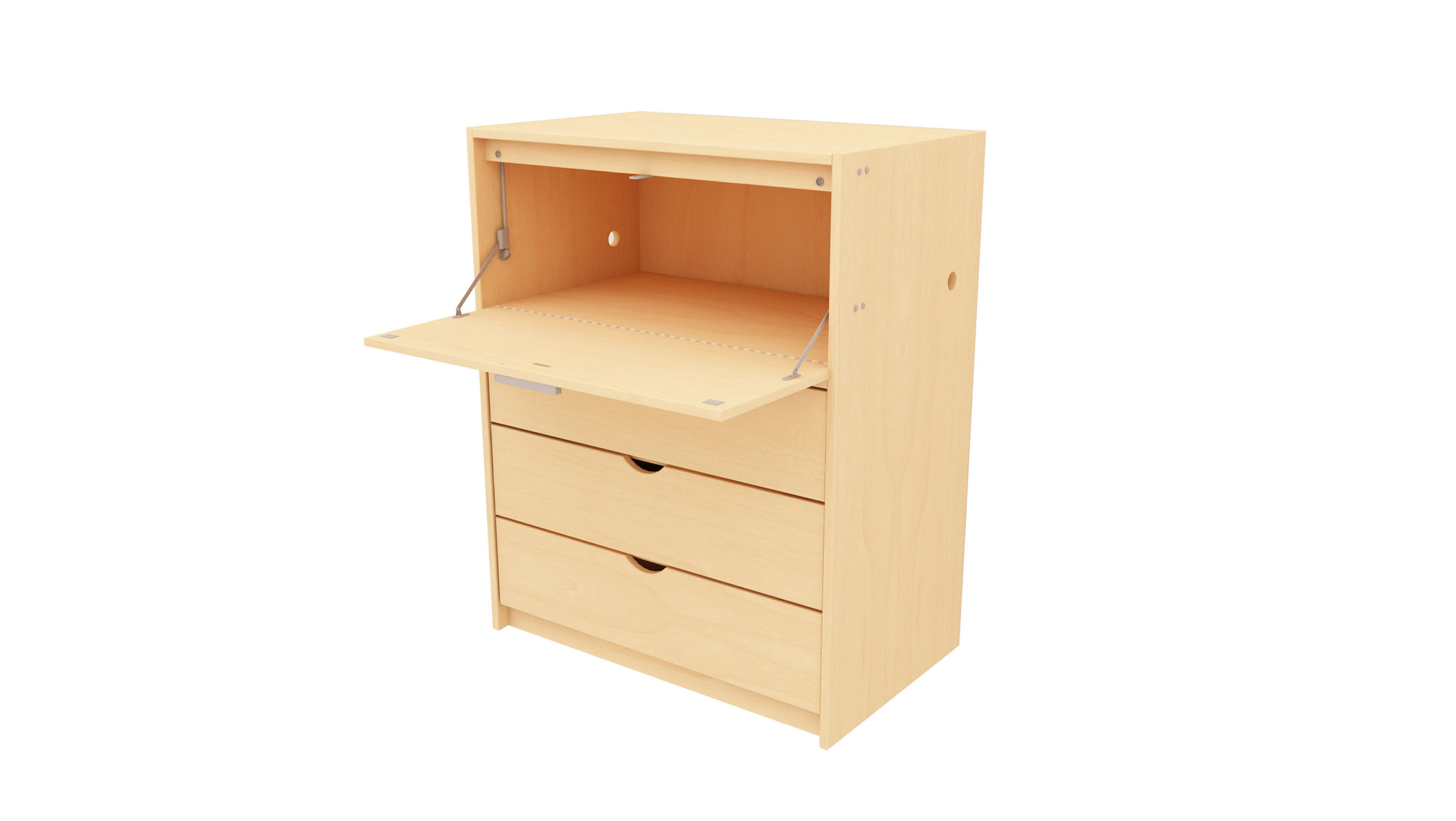 campus drop lid desk