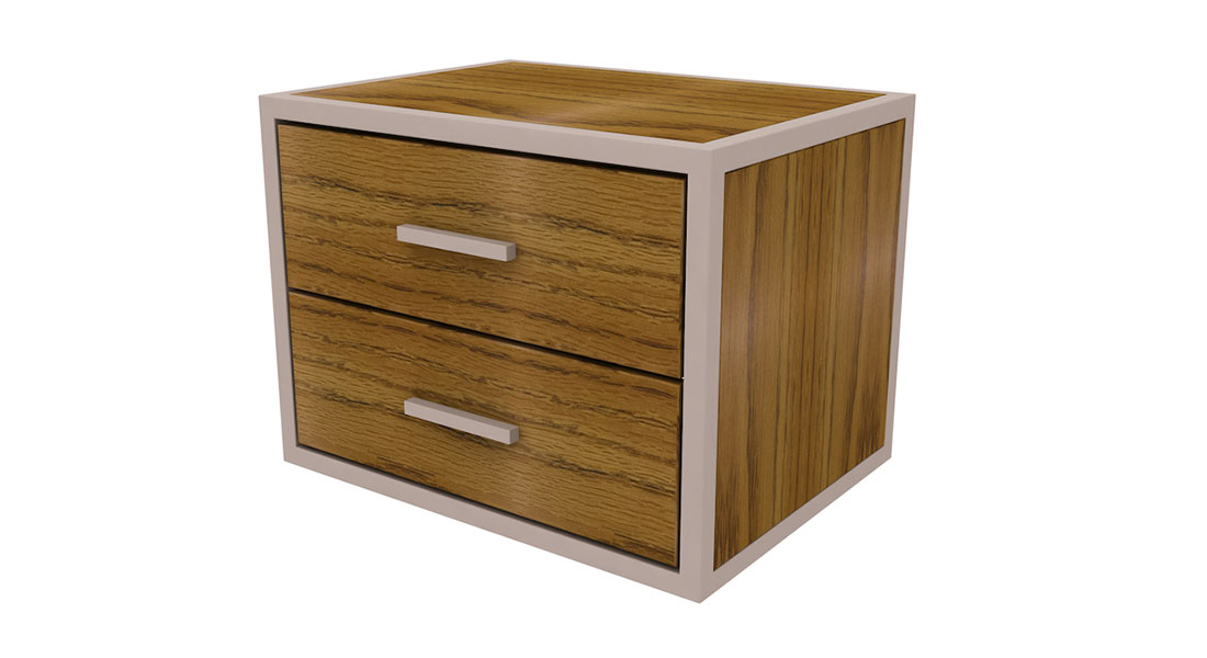 rowan 2 drawer underbed small