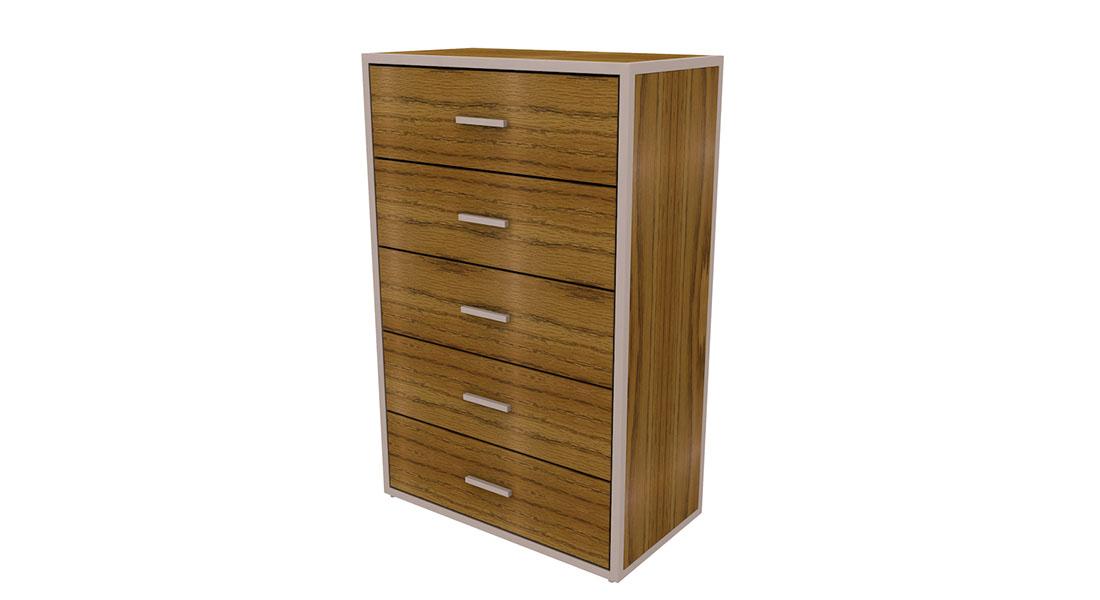 rowan 5 drawer chest