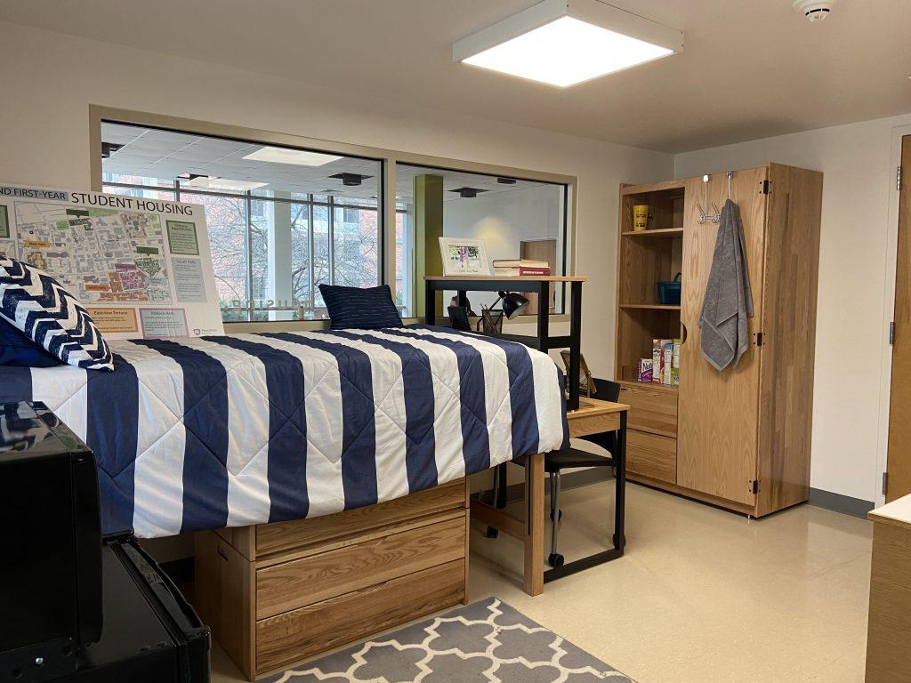 penn state demo dorm room