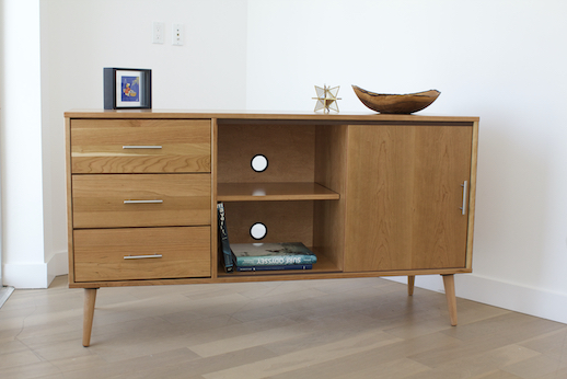 Boulevard Dresser with Cord Holes
