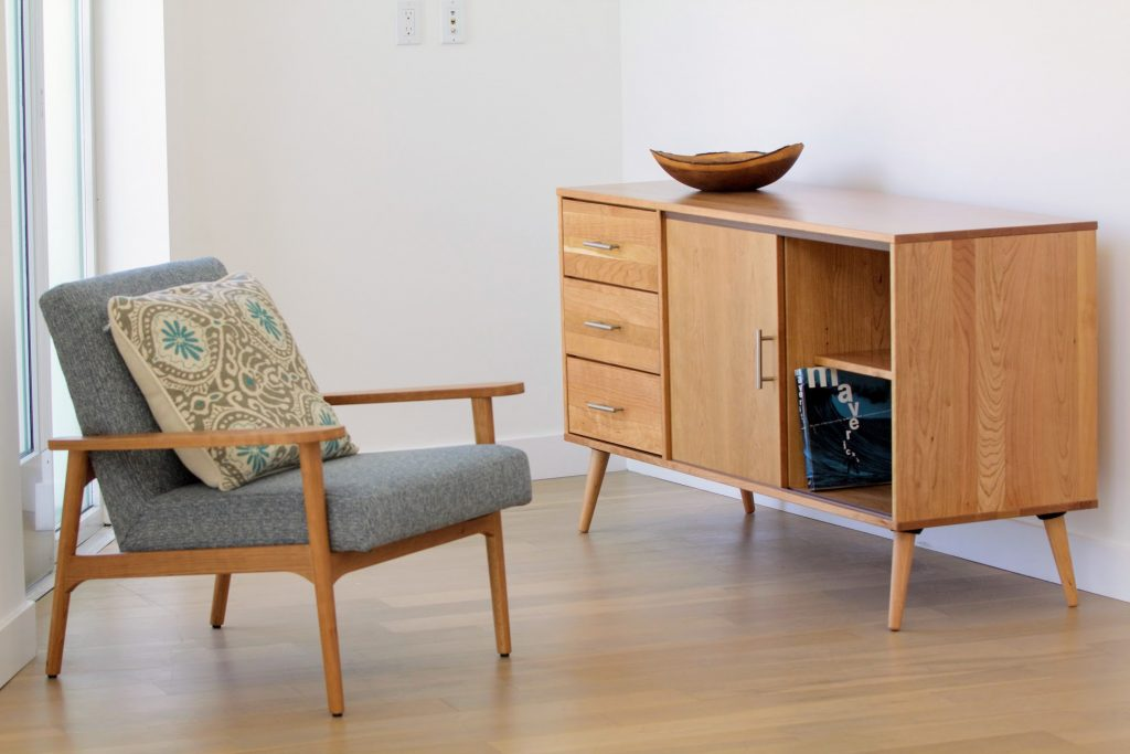 Boulevard Dresser and Lounge Chair